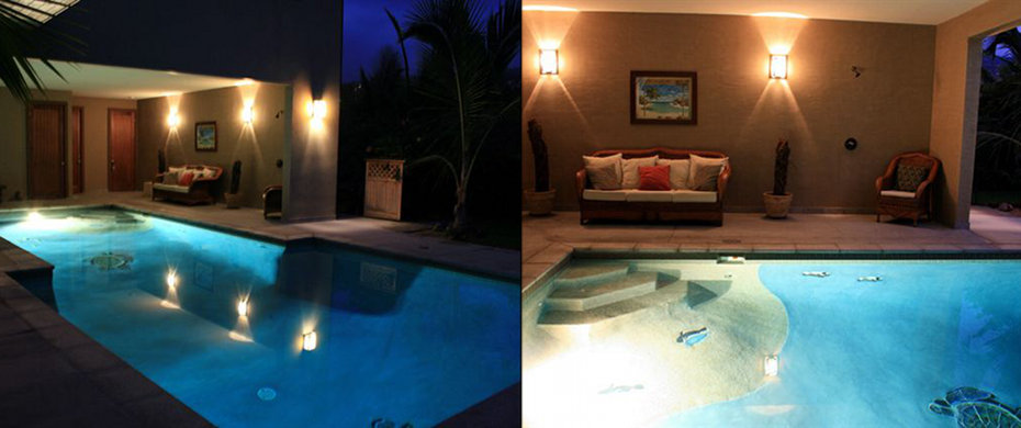 Ho'omaluhia Half Indoor Pool